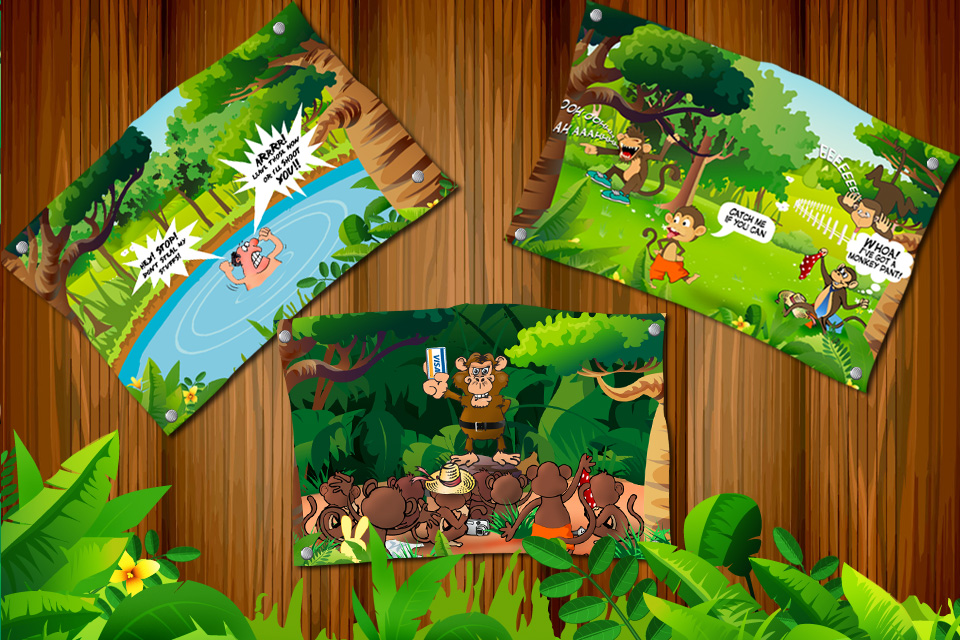 Screenshot Shoot the Monkey for iPhone