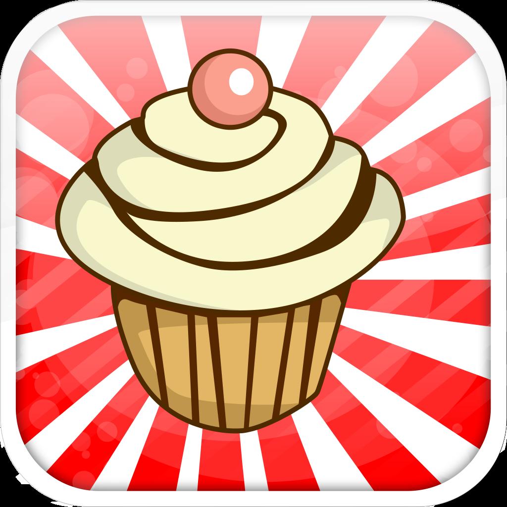 Candy and Cupcake Sweet Sugar Rush